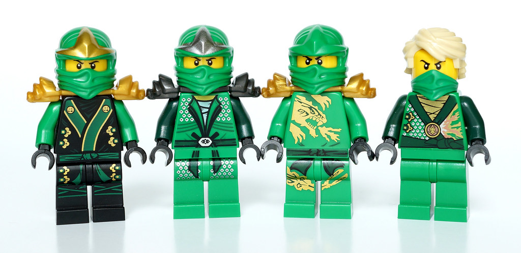 Ninjago Lloyd suits | JéRôMe | Flickr