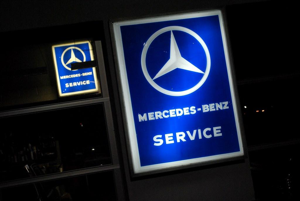 Mercedes benz service signs newburgh ny xaver 39 s was for Mercedes benz service number