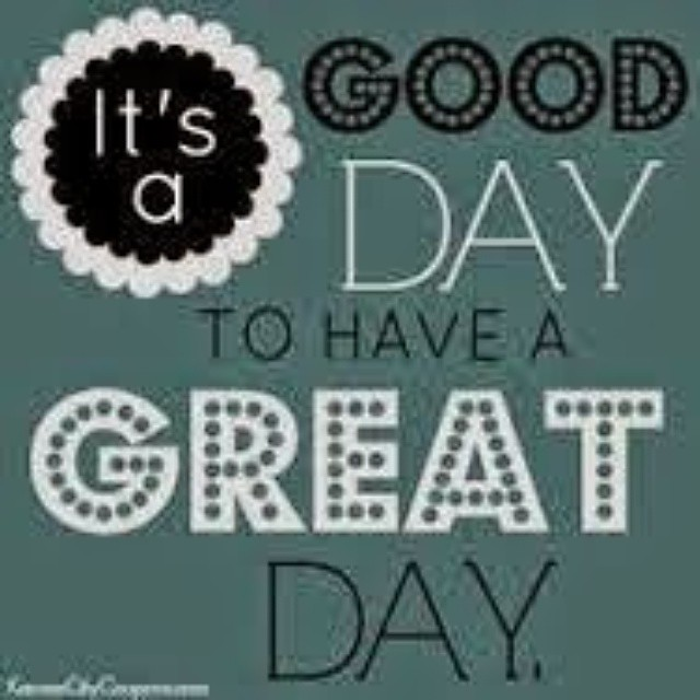 Have A Good Day Honey Quotes: Have A Great Day Everyone! #smile #love #hug #gooddaymonda
