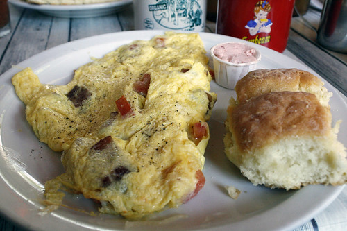 BLT Omelette