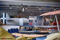 MM27050 ORB-23 - - Italian Air Force - IMAM Ro.43 Maggiolino - Italian Air Force Museum Vigna di Valle, Italy - 160614 - Steven Gray - IMG_0117_HDR