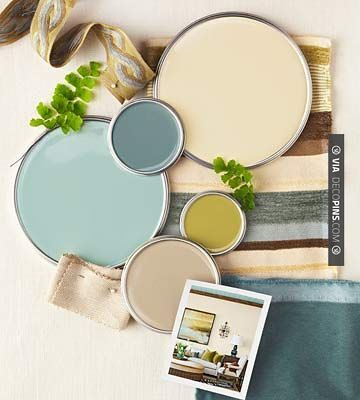 Paint color palettes interior color schemes better homes for Kitchen colour palette ideas