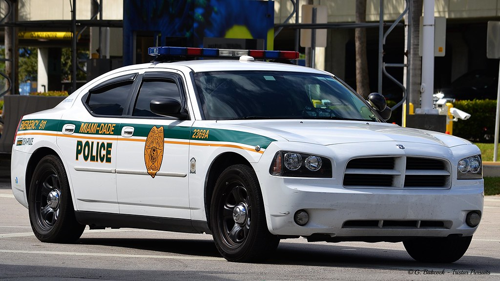 Miami Dade Police Dodge Charger Unit 2369a Port Of