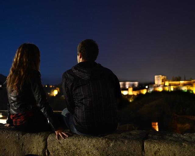 Mirador de San Nicolás, sin duda un imprescindible que ver en Granada por la noche