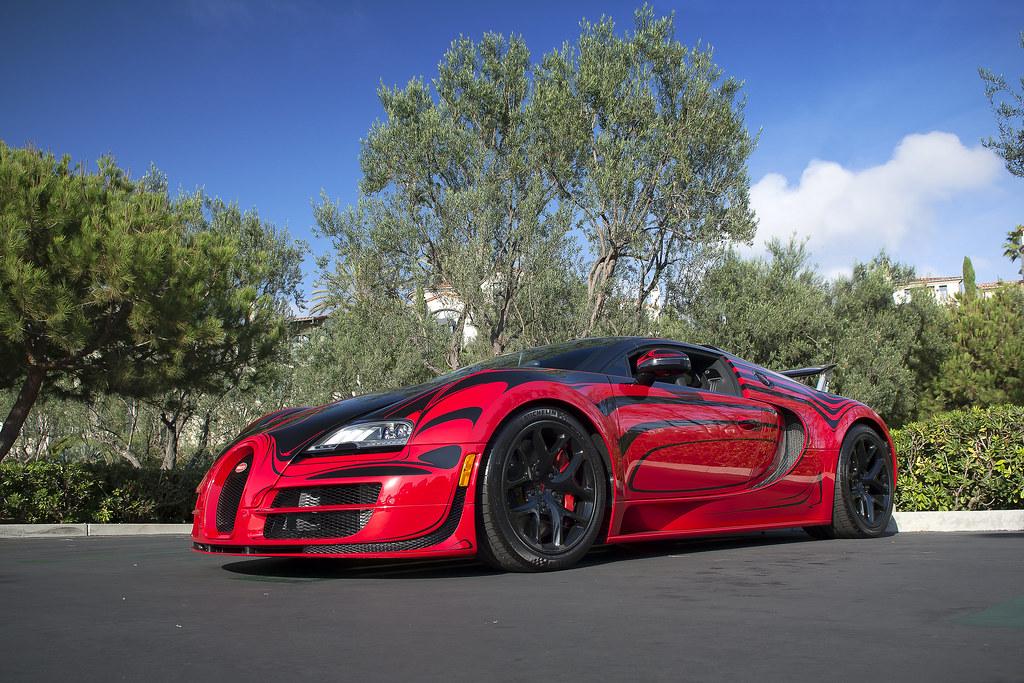 bugatti veyron grand sport vitesse l 39 or rouge bugatti veyr flickr. Black Bedroom Furniture Sets. Home Design Ideas