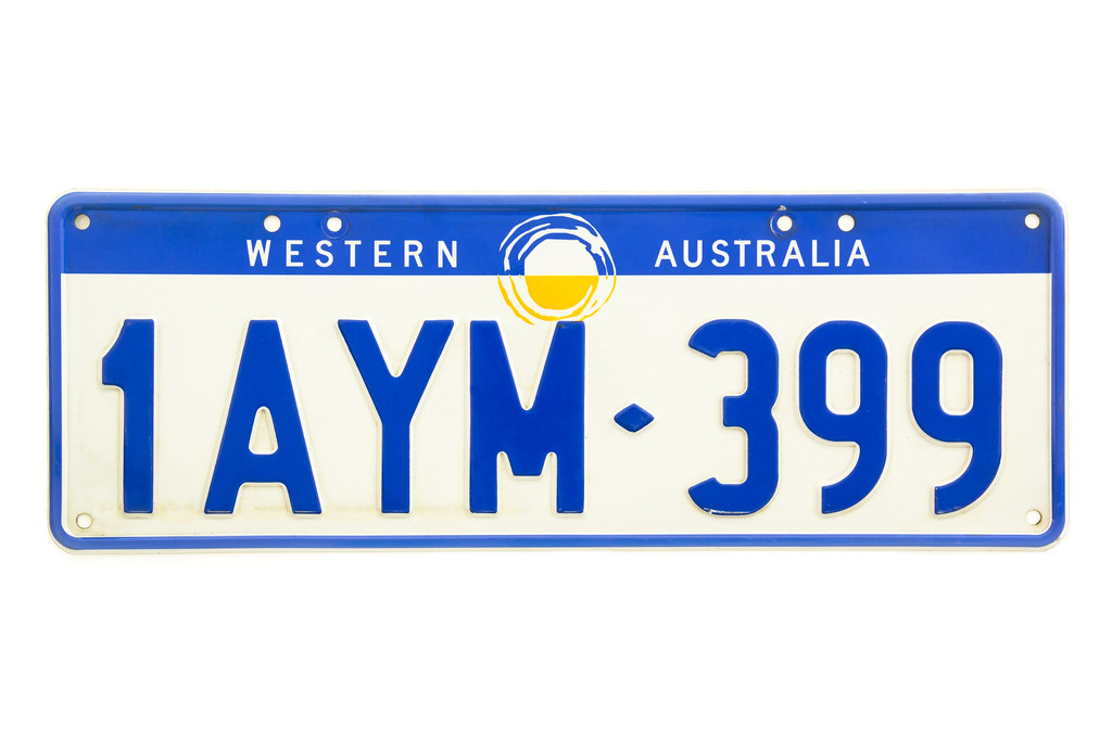 License Plate Camera >> Western Australia (WA) Number Plate | An expired Western Aus… | Flickr