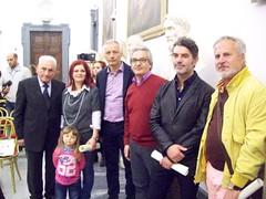 Artisti premiati e Vittorio Caggiano