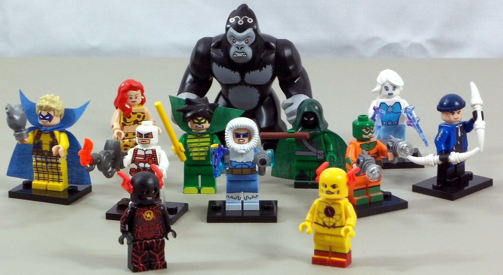LEGO Flash Villains Rogues And More Trickster Heatwave