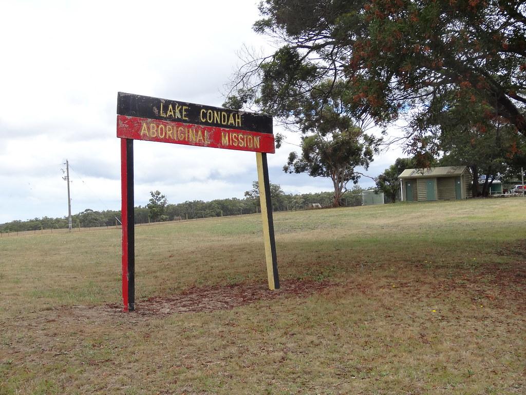 Condah near Heywood. Site of the old Lake Condah Aborigina… | Flickr