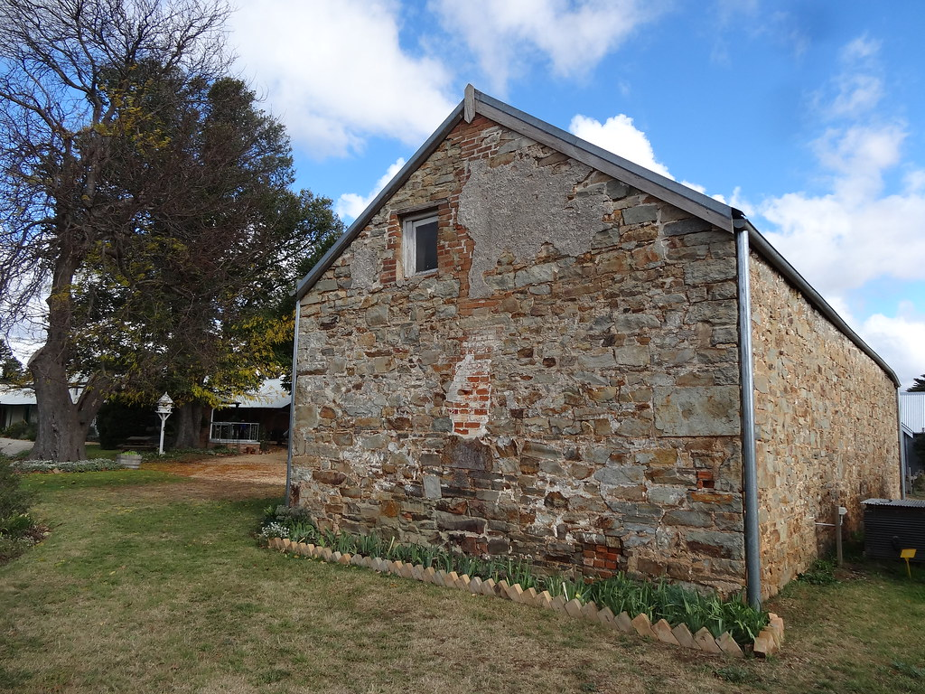 Goulburn Riversdale House The Original Stone Barn From T