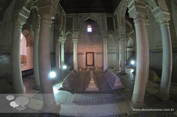 tumulos saadinos marrakech