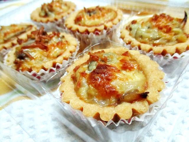 Stephanie's homemade mushroom pies 3