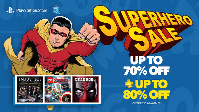 Superhero Sale: Savings Up to 70%, 80% for Plus – PlayStation.Blog