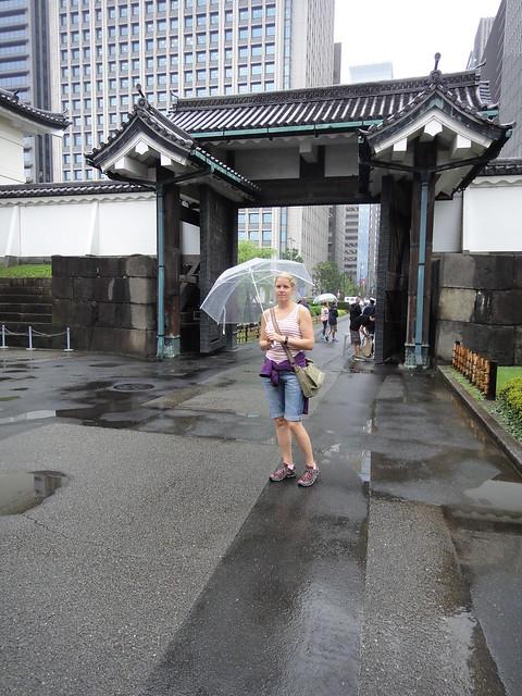 Kejserliga palatset i regn
