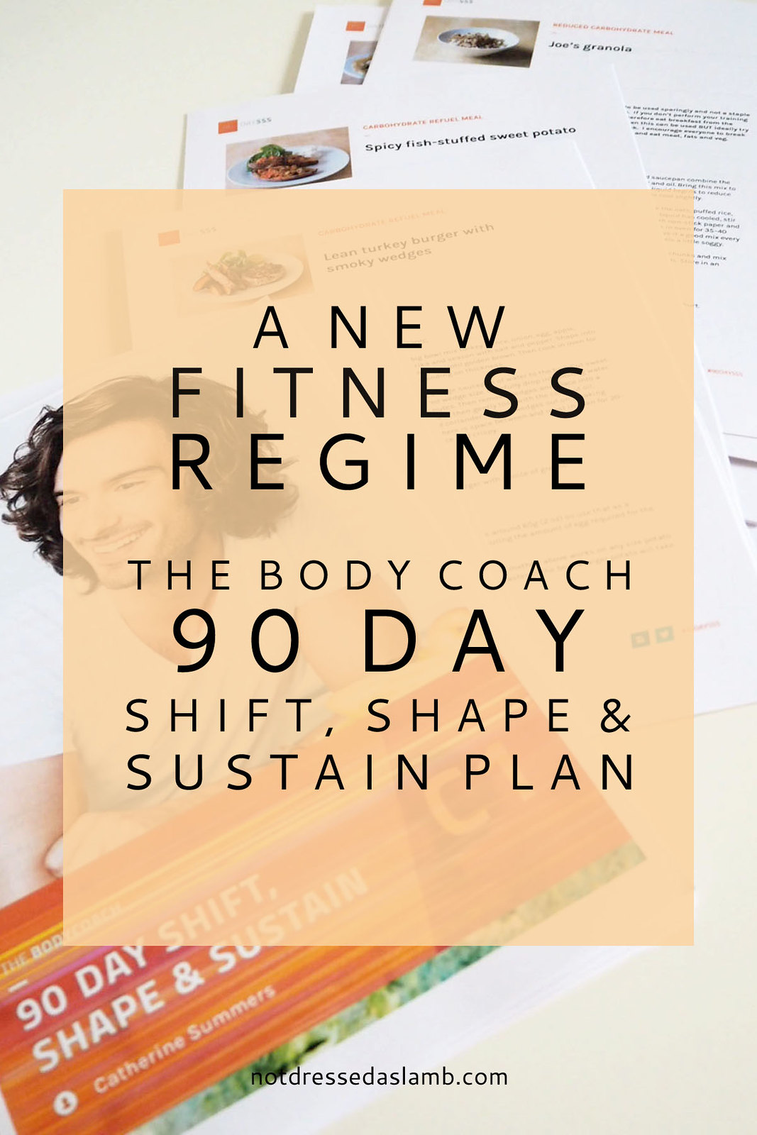 A New Fitness Regime | The Body Coach 90 Day Shift, Shape & Sustain Plan #notlambFIT |Not Dressed As Lamb