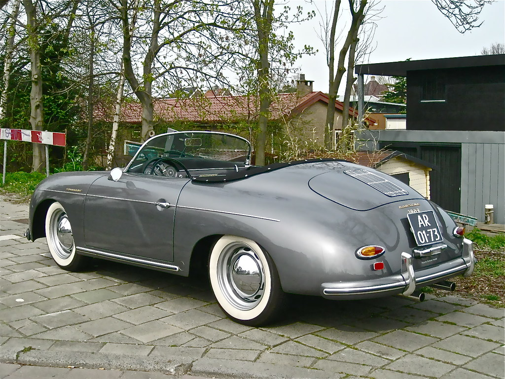 1962 Volkswagen Porsche 1600 Super Speedster 50s Replic Flickr