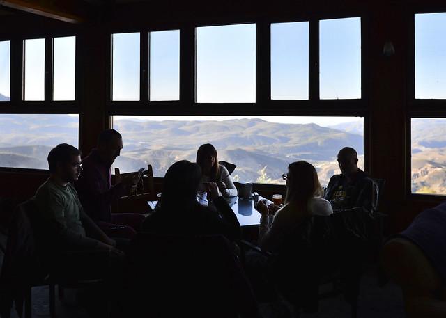 Restaurante del Camping Alpujarras de Laroles en Granada