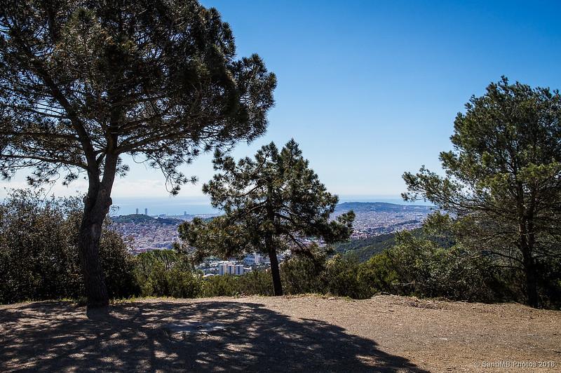 Barcelona desde el Turó de Valldaura