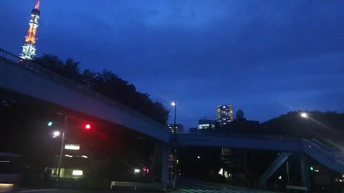 20160708幸稲荷神社・東京タワー・増上寺