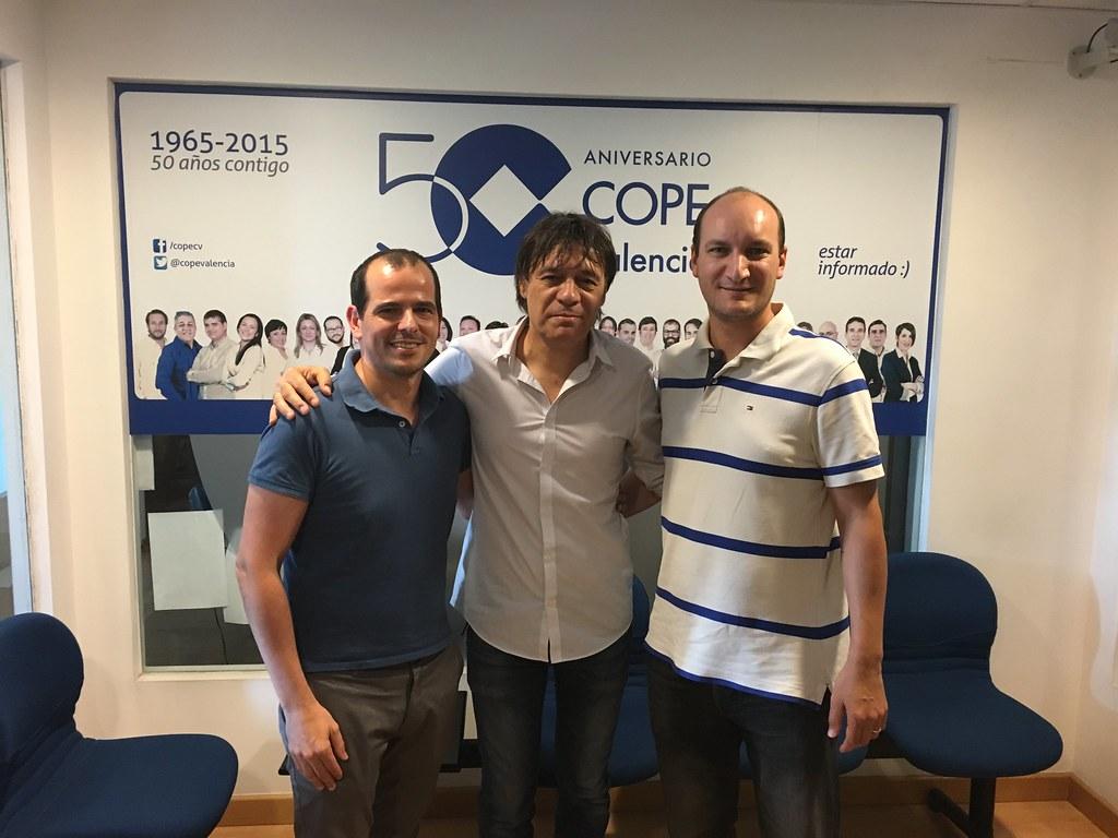 Foto 3 - Hablando de SIG, IDEs y SmartCities en el 92.6FM de COPE Valencia | geomatica | podcast.geomaticavalencia.com