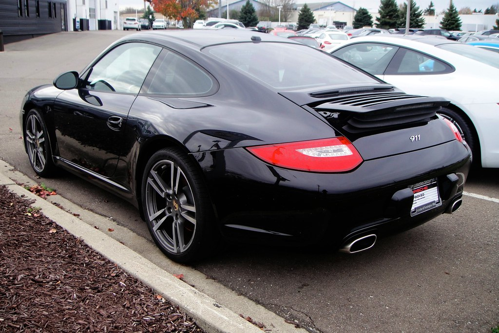 porsche 911 black edition 997 yahya s flickr. Black Bedroom Furniture Sets. Home Design Ideas