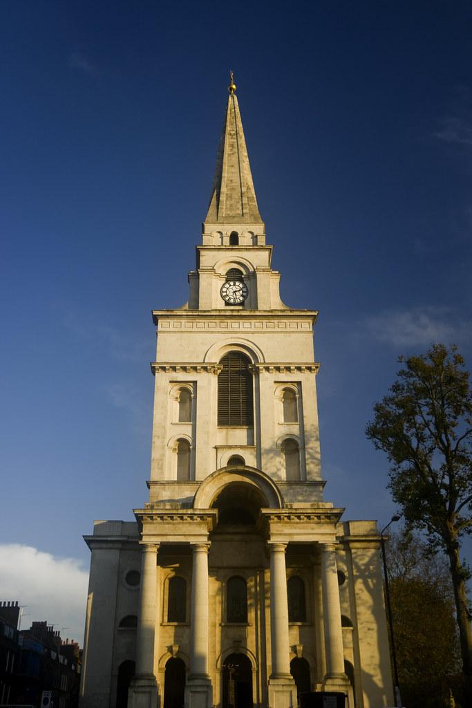 Spitalfields London: UK - London - Christ Church Spitalfields_SAM_0109