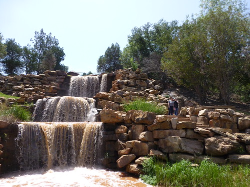 wichita falls texas waterfalls walk nature