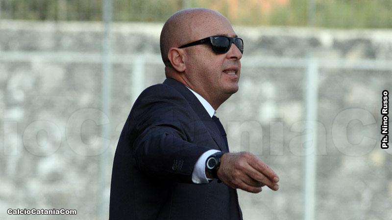 Mister Giovanni Pulvirenti si approccia con la prima squadra