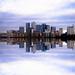 Canary Wharf Skyline - London Reflection by Simon Hadleigh-Sparks (New 2015 Version) (On Explore 1st Jan 2015)