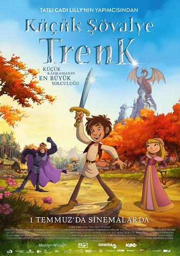 Küçük Şövalye Trenk - Der kleine Ritter Trenk – Trenk, The Little Knight (2016)