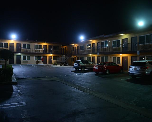 Motel de carretera en Los Angeles, una de esas cosas originales que hacer en Estados Unidos