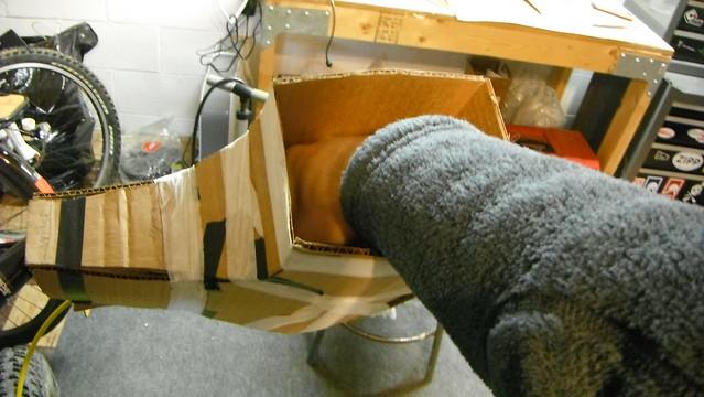 DIY MTB Pogies