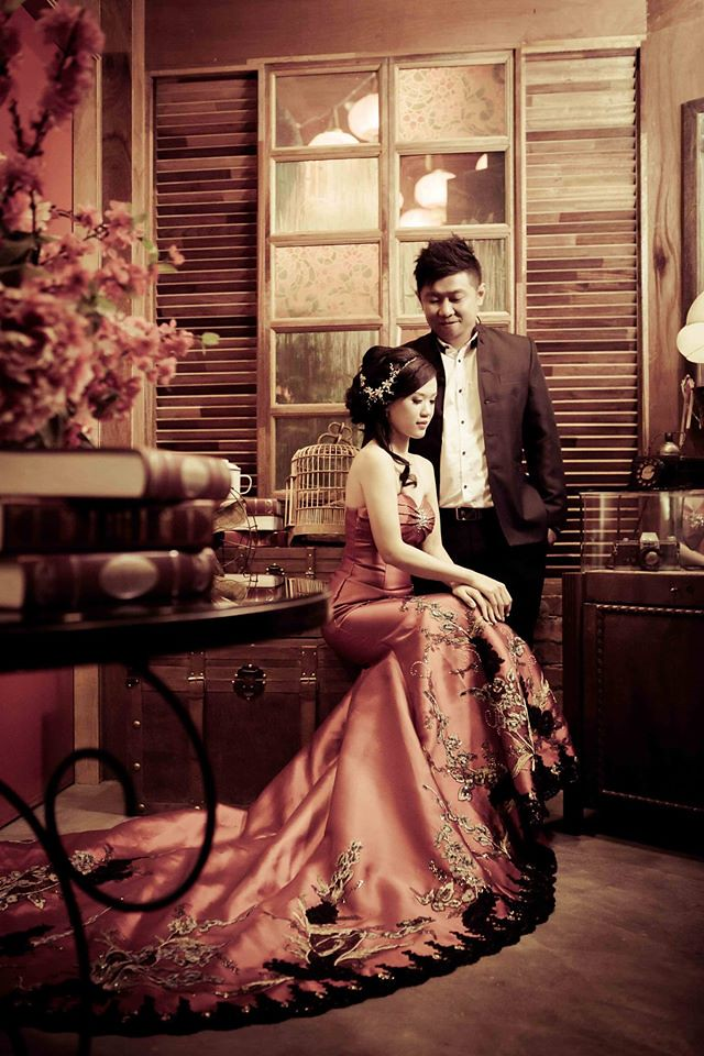 Oversea | Pre Wedding photography | tailor made gown | Des