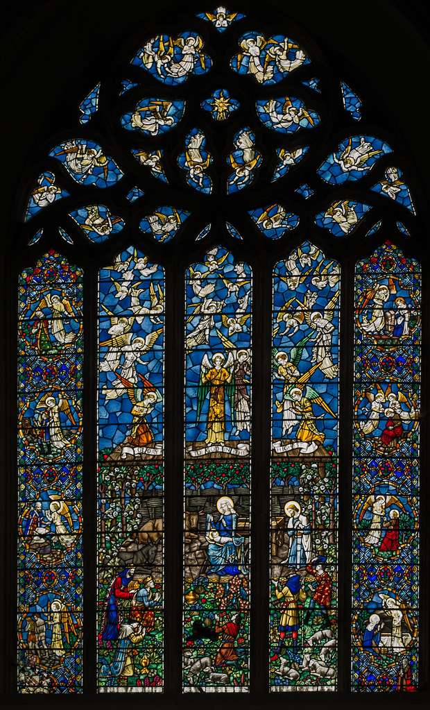 Church Stained Glass Of The S