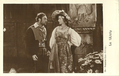 Germana Paolieri and Renzo Ricci in La Wally (1932)