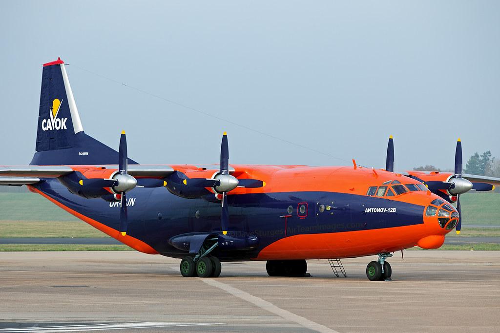 Cavok An 12 Ur Cjn Cavok Air Antonov An 12 Ur Cjn On The