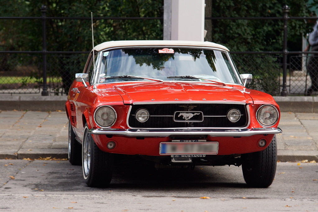 1961 Ford Mustang Cabriolet Vienna Classic Days 2014