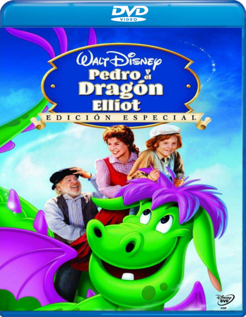 15747573299 d449055c76 o - Pedro y el dragón Elliot - Edicioón Especial [DVD9][Castellano, Ingles][1977][DOWNACE]