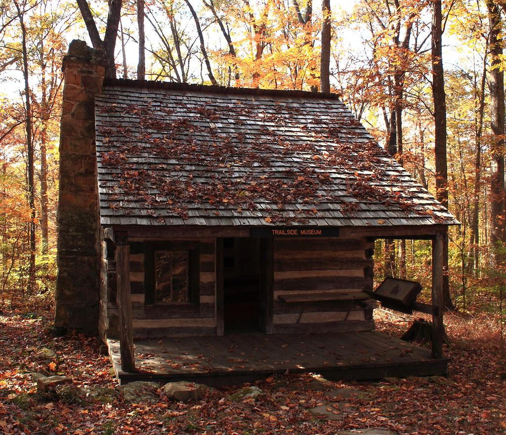 Dewar Log Cabin 1870 T C Steele State Historic Site
