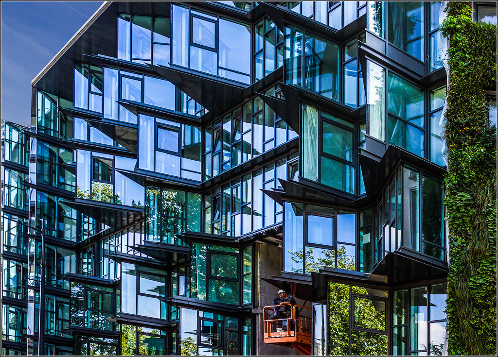 Rennes immeuble jean nouvel herv marchand flickr - Immeuble jean nouvel rennes ...