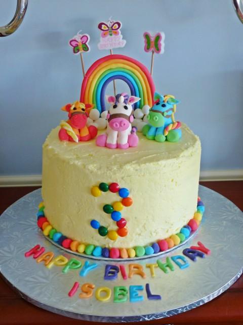 all fruit birthday cake - photo #9