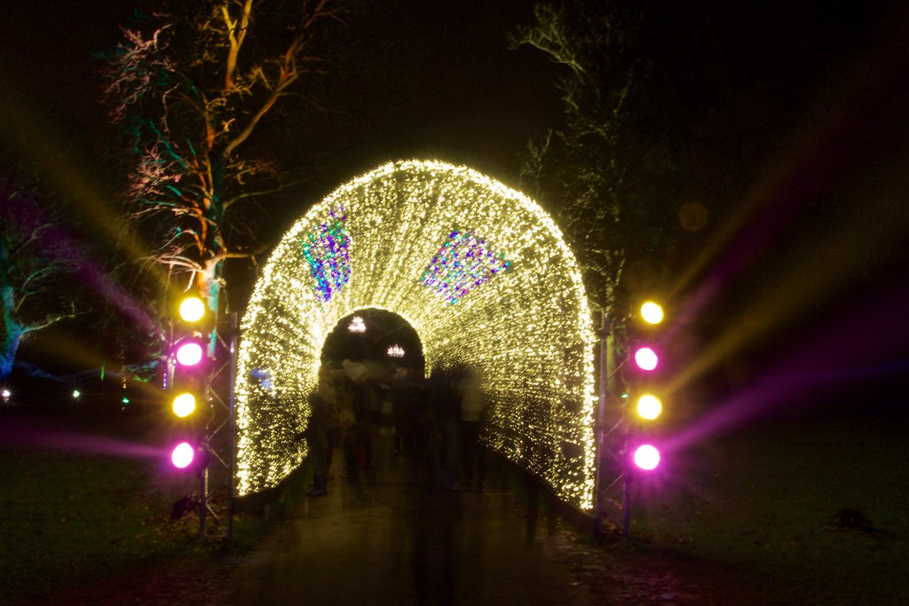 Ghosts In A Tunnel Christmas At Kew Is A Unique After