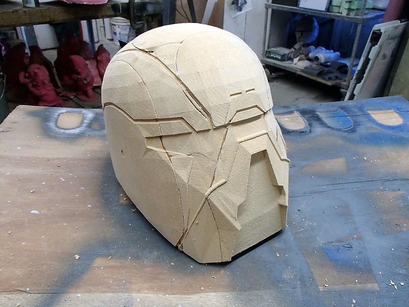 Shae Vizla Helmet Parts Assembled Angle