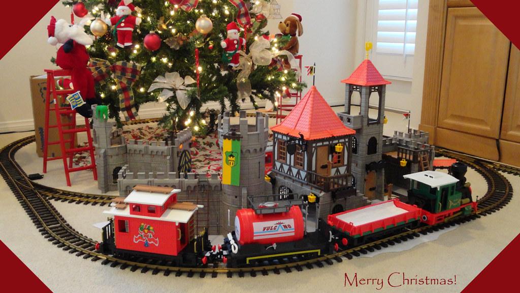 Tree Train Christmas
