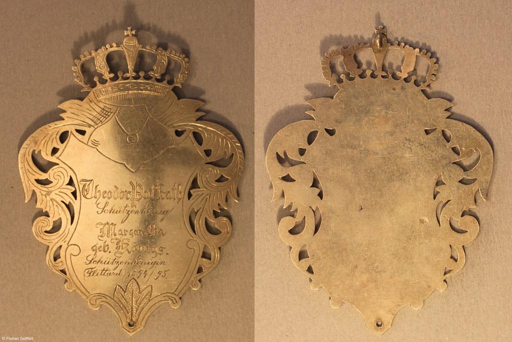 Koenigsschild Flittard von paffrath theodor aus dem Jahr 1894