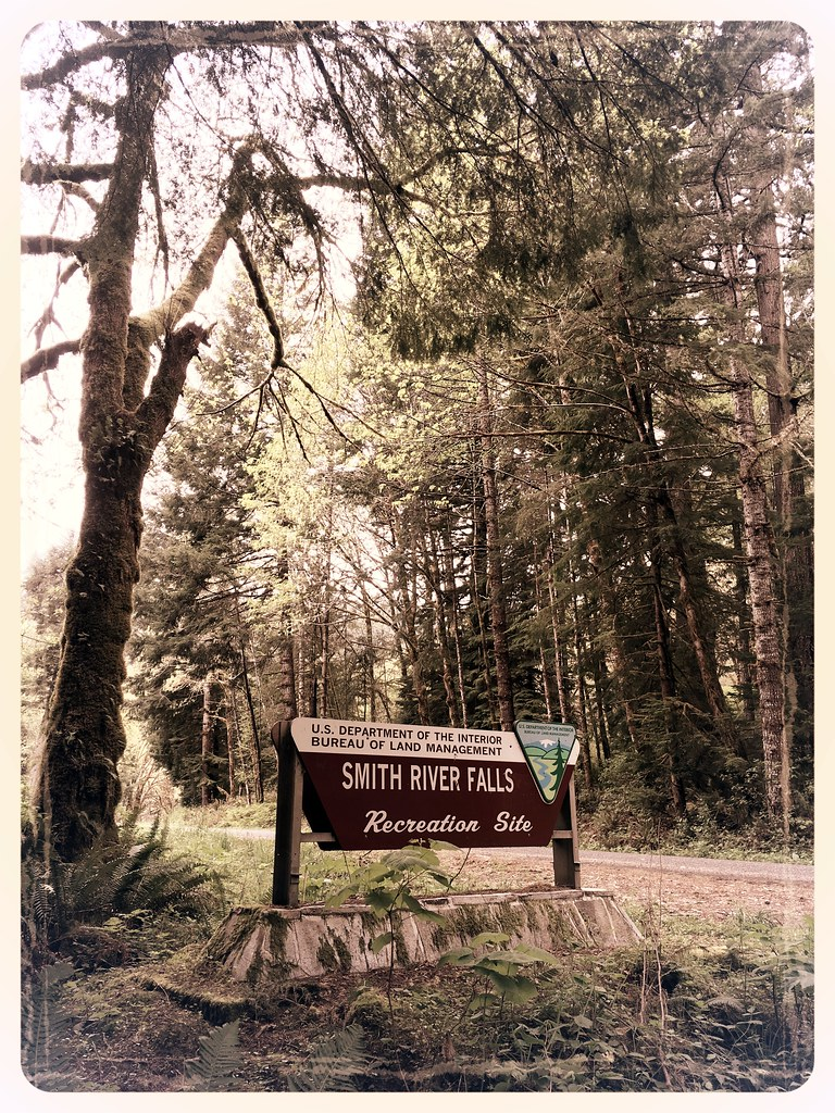 Smith River Falls Recreation Site Sign View Of