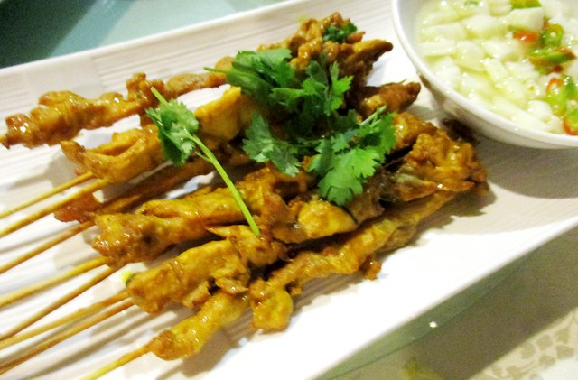 Flavours Thai Kitchen chicken satay