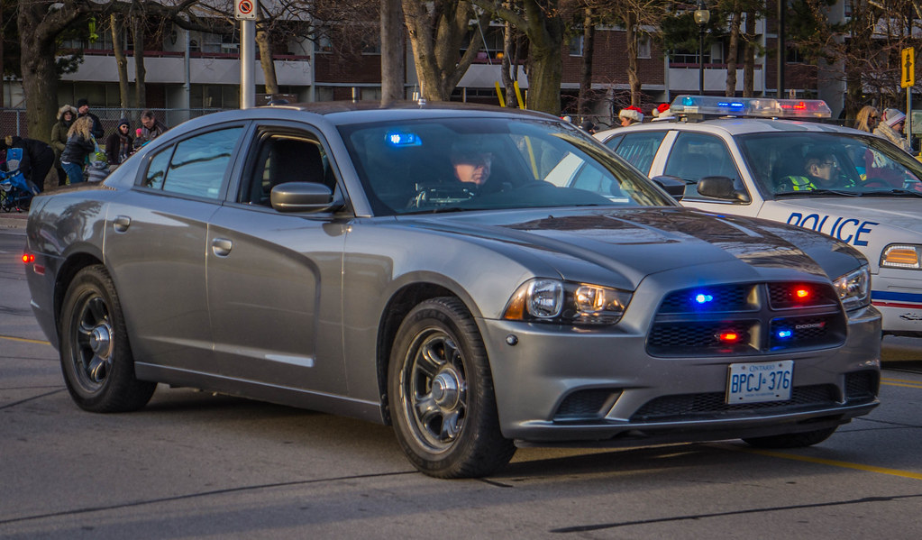 Halton Regional Police Unmarked Dodge Charger At The