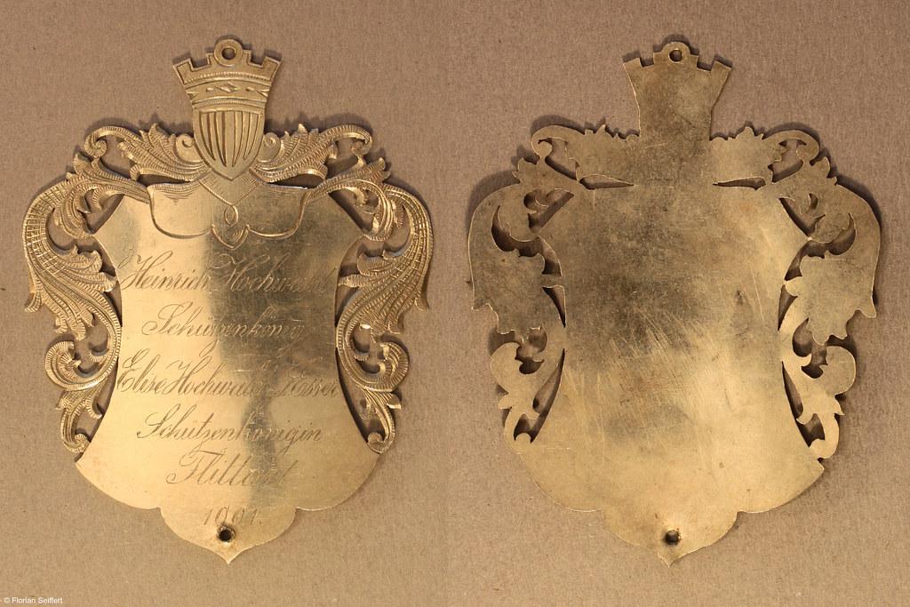 Koenigsschild Flittard von hochwald heinrich aus dem Jahr 1901