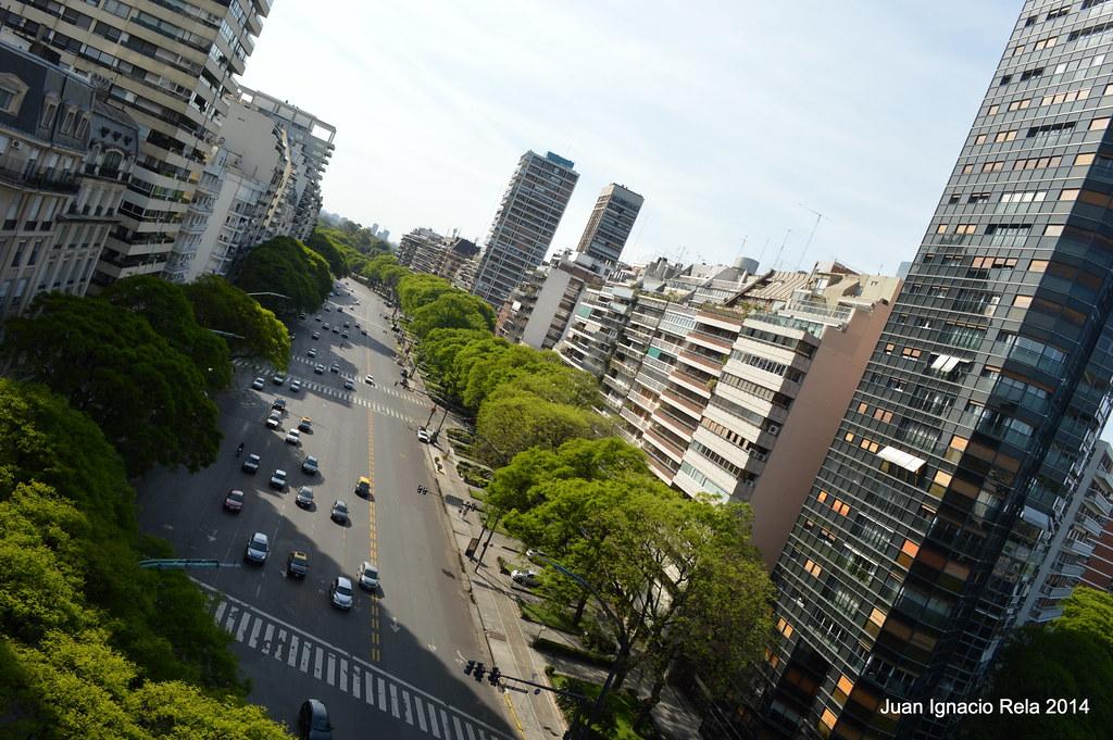Avenida LIbertador, Capital Federal, Buenos Aires, Argenti